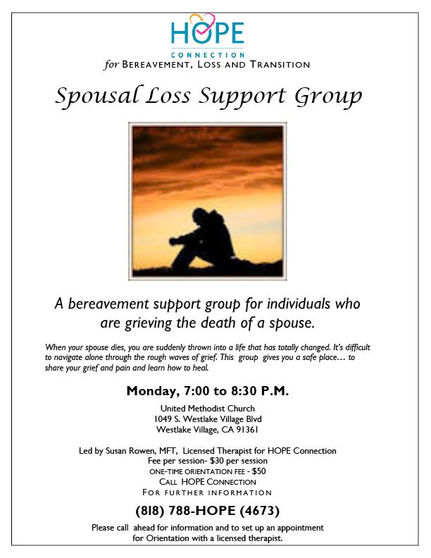 Grief Support Group Westlake Village